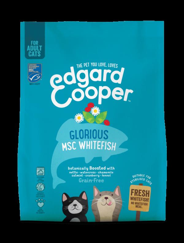 Edgard Cooper cat kibble - fish