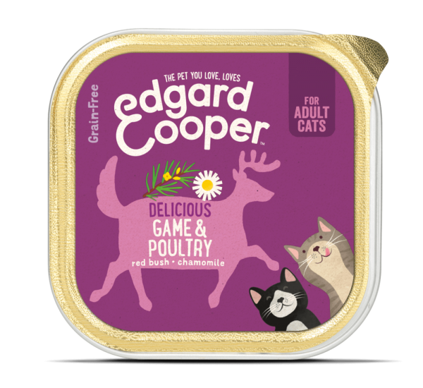 Edgard Cooper cat food game and poultry