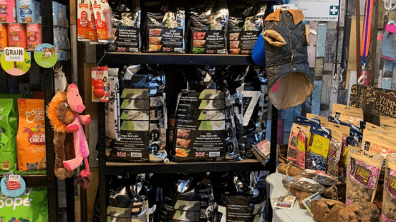 seven grain free dog food at Seaside Paws St Leoonards