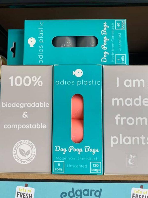 Adios plastic free poo bags