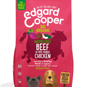Edgard Cooper organic beef and chicken kibble