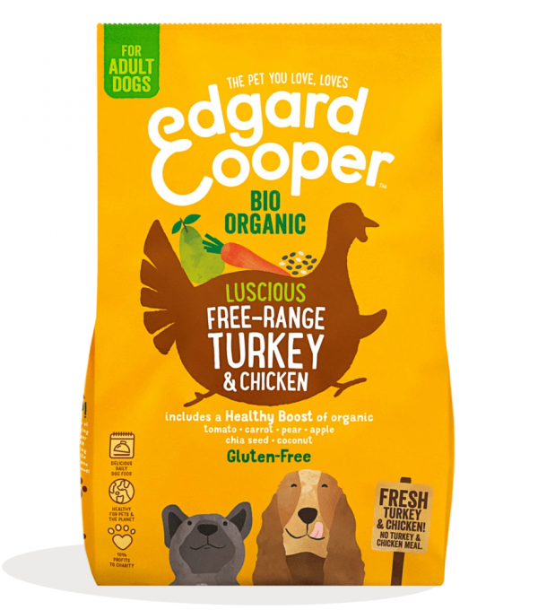 Edgard Cooper organic turkey kibble