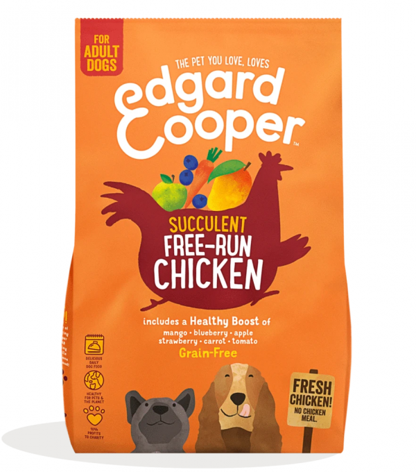 Edgard Cooper free run chicken kibble