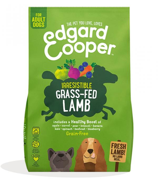Edgard Cooper grass fed lamb kibble