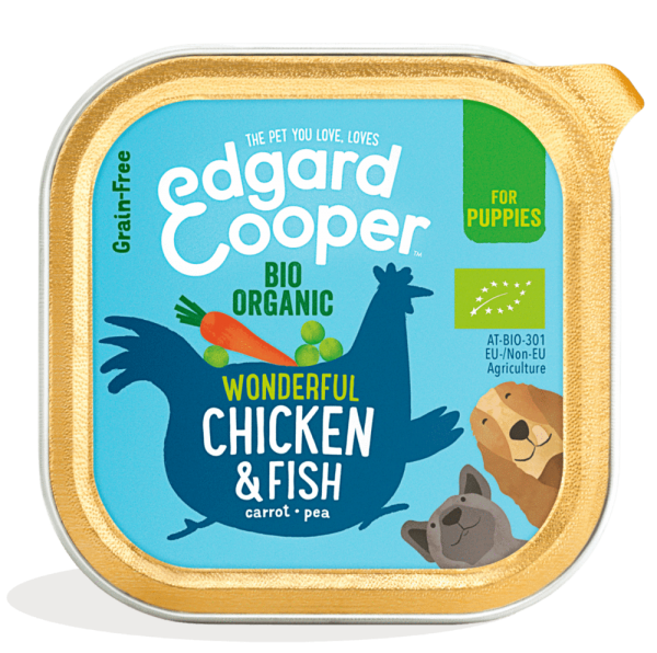 Edgard Cooper bio organic puppy food