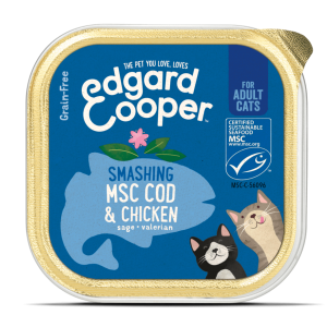 Edgard Cooper cat food 85g cod and chicken