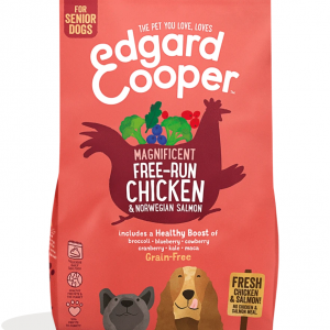 Edgard Cooper senior adult chicken and salmon kibble