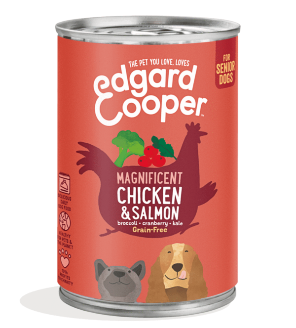 Edgard Cooper senior dog food 400g