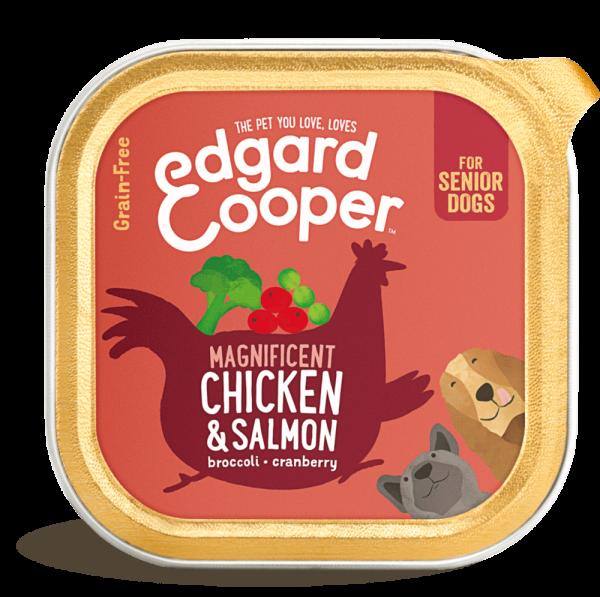 Edgard Cooper senior dog food 150G chicken salmon