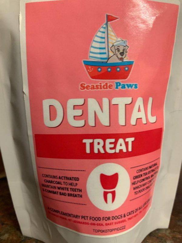 Seaside Paws dental treat