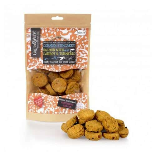 Green and Wilds Cornish fishcake dog treats