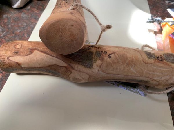 Olive wood natural dog chew