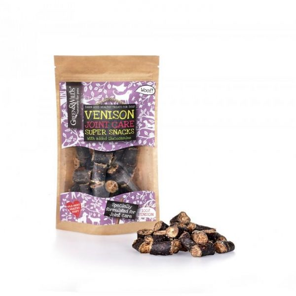 Green and Wilds Venison Joint care Super Snacks