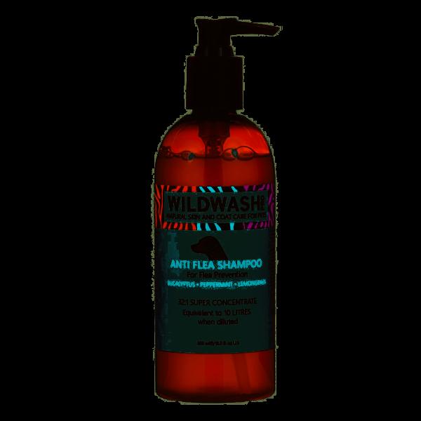 Wildwash Pro Anti-flea dog shampoo
