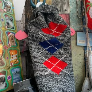 Urban Pup Argyle sweater