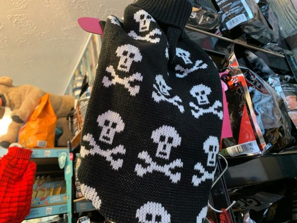 Urban Pup black skull sweater