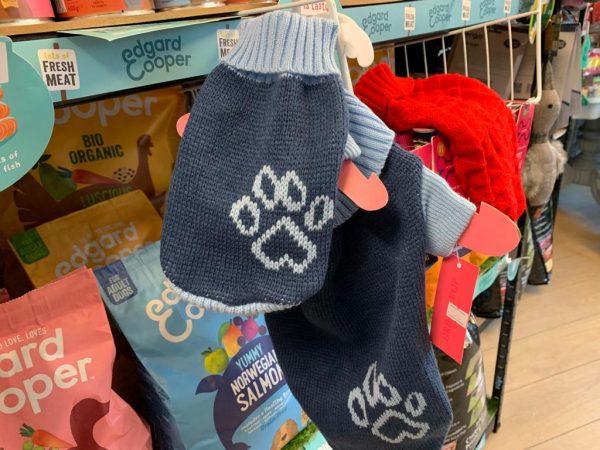 Urban Pup Blue Paw sweater xs