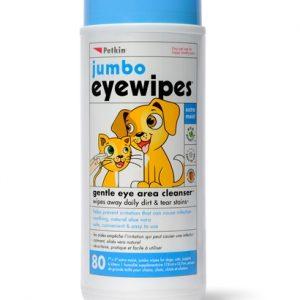 Petkin jumbo pet eye wipes