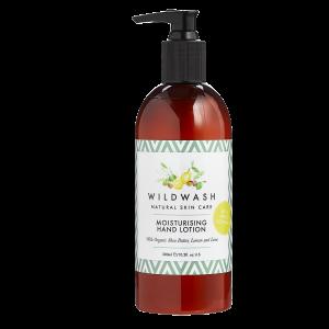 Wildwash moisturising hand lotion